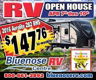 RV Open House - banner ad