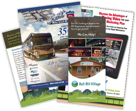 Brochures, flyers, booklets