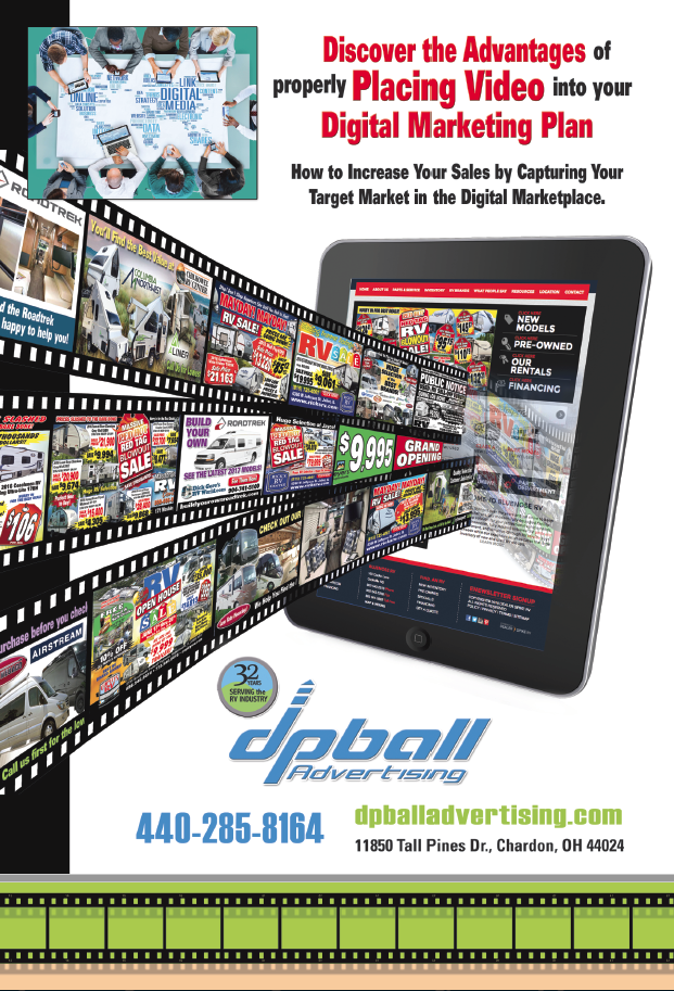 Ad Video to Your Digital marketing Plan with DP Ball Advertising
