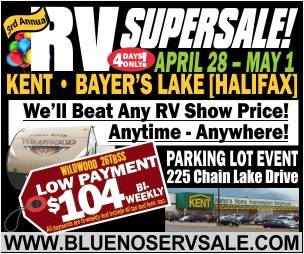 RV Supersale Banner Ad