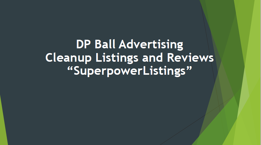 DP Ball Advertising - Cleanup Listings and Reviews