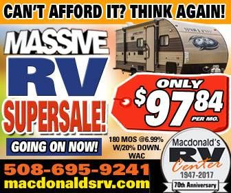 Massive RV Supersale Going on Now - banner ad