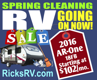 Spring Cleaning RV Sale - Banner Ad